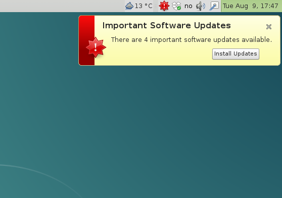 Software Updates Mate Jessie